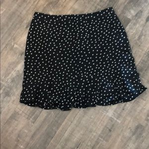 Madewell star print mini skirt